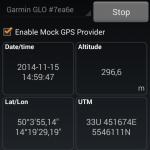 Aplikace Bluetooth GPS - nastavení
