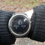 Garmin fenix3 - data z Tempe
