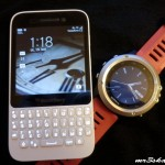 Blackberry Q5 a fenix3