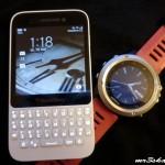 Blackberry Q5 a fenix3