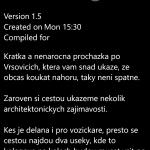 Úvodní info hry